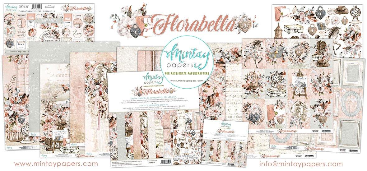 Mintay 12x12 Florabella