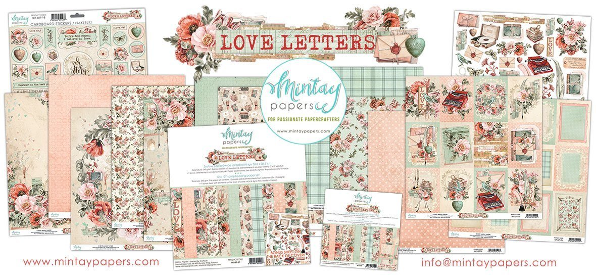 Mintay Love Letters Collection
