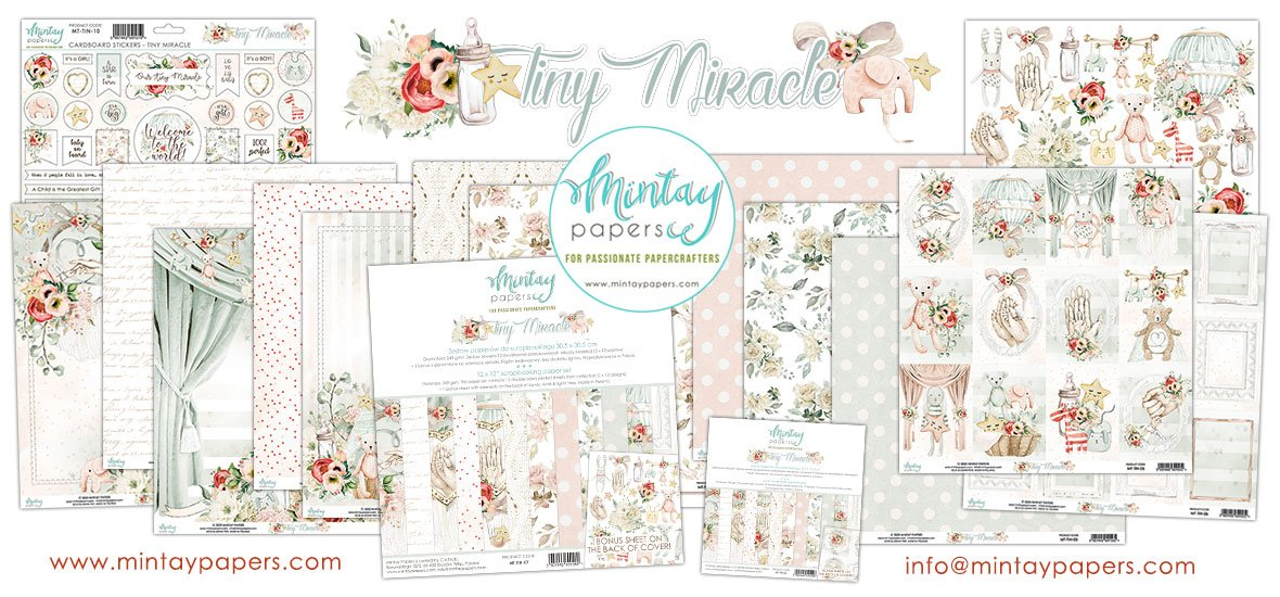 Mintay Tiny Miracle Paper Collection