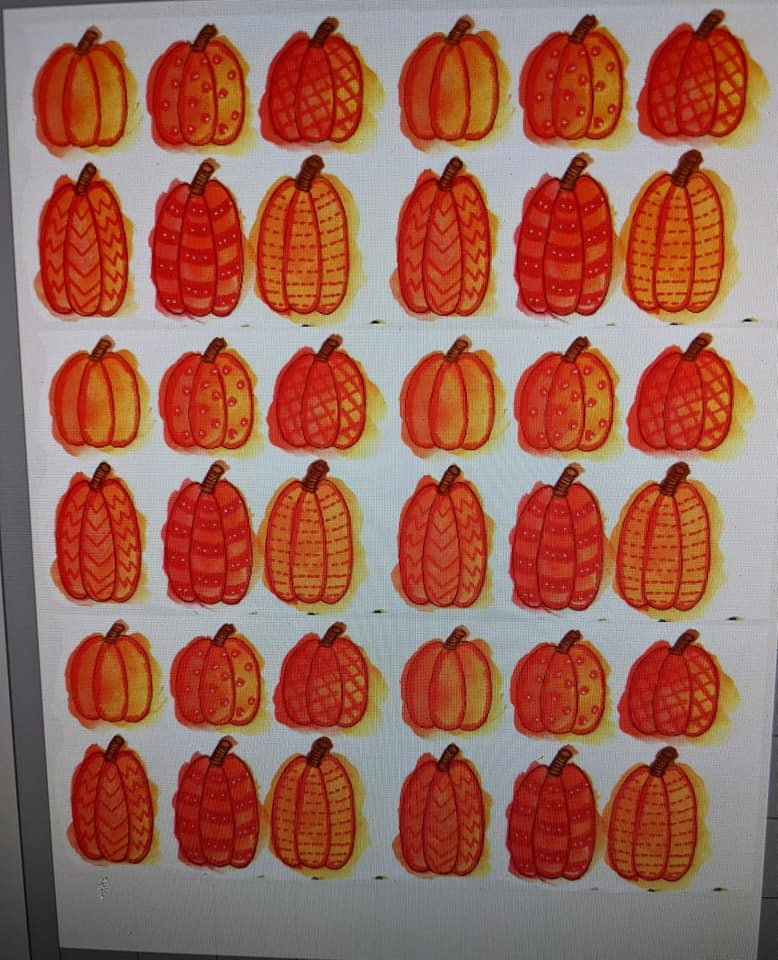 FREE DOWNLOAD - Pumpkins two sizes - colored
