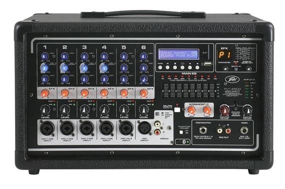 PVi 6500 Powered Mixer
