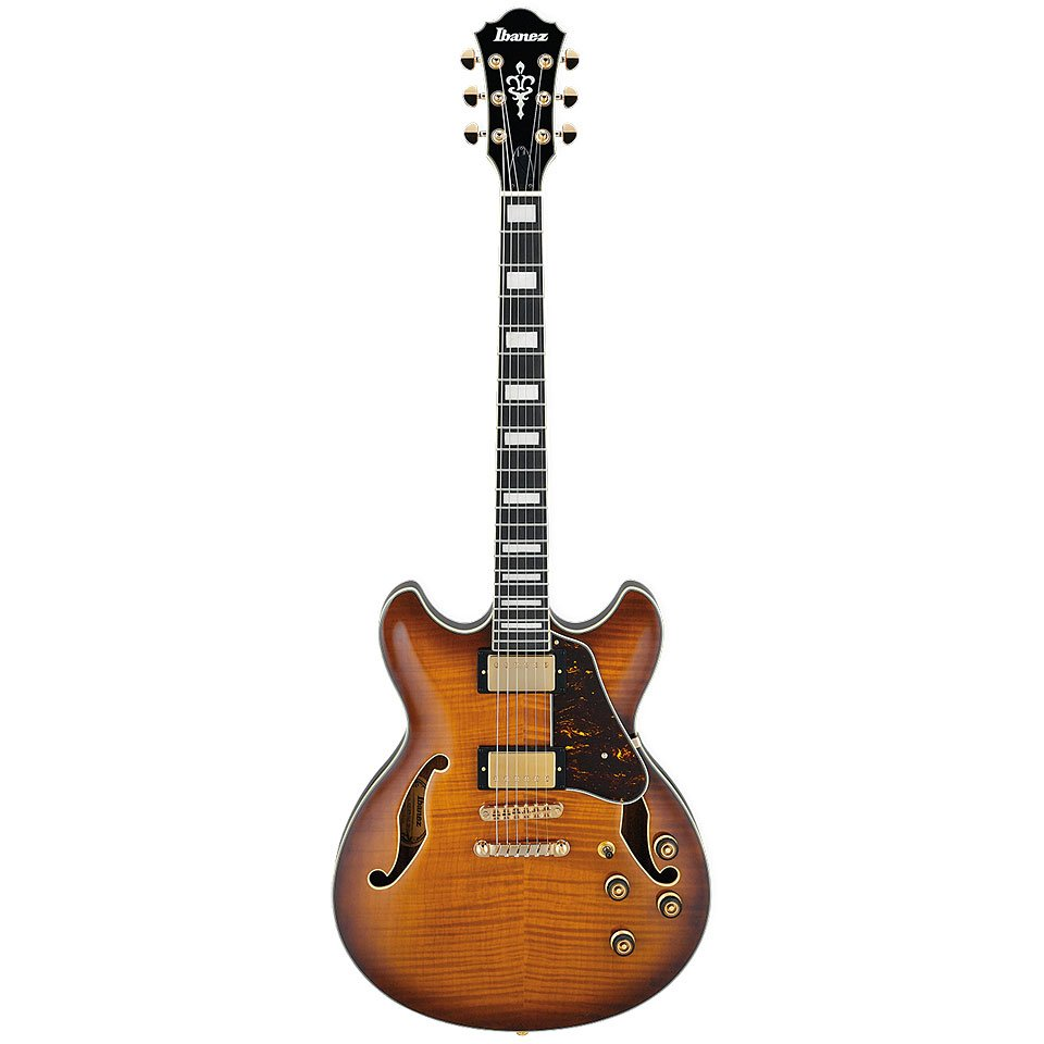 Ibanez AS Artcore Expressionist 6str Electric Guitar - Violin Sunburst