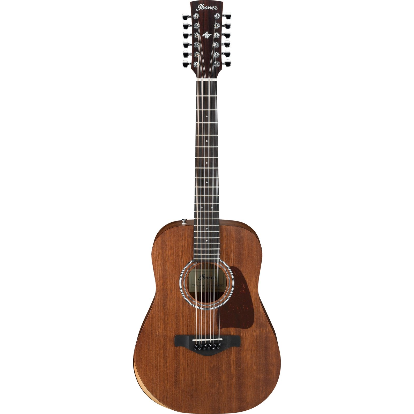 Ibanez AW5412JROPN - 12 string Artwood guitar - Solid Okoume top - Open Pore Natural