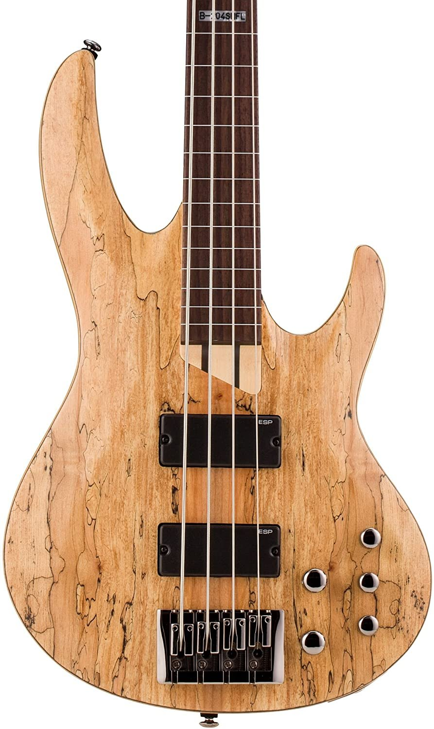 LTD Bass Guitar B-204 Spalted Maple