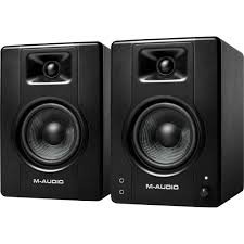 M-Audio BX4 4.5-inch Multimedia Reference Monitors (PAIRS)