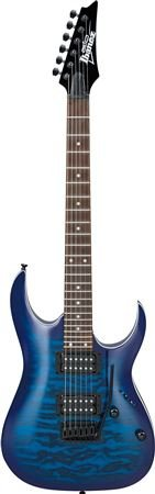 Ibanez GIO RGA 6str Electric Guitar - Transparent Blue Burst