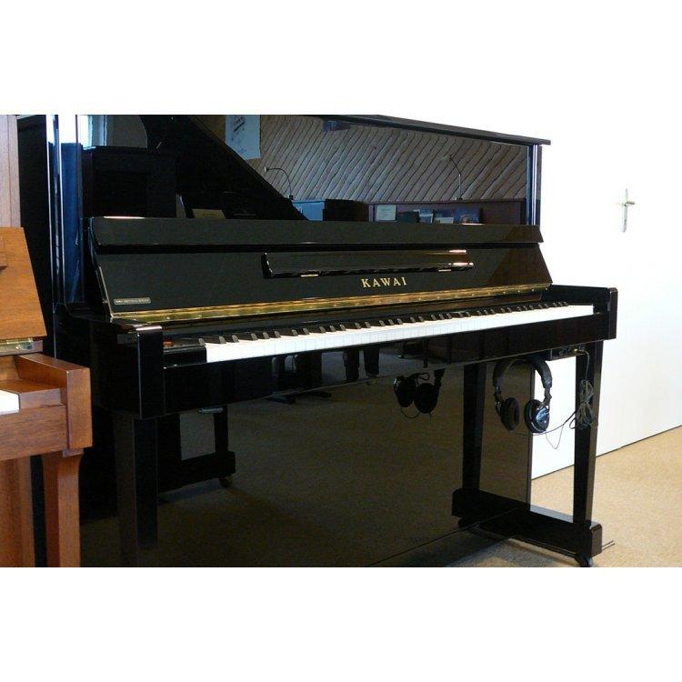 Kawai K-25E Upright Polished Ebony Piano