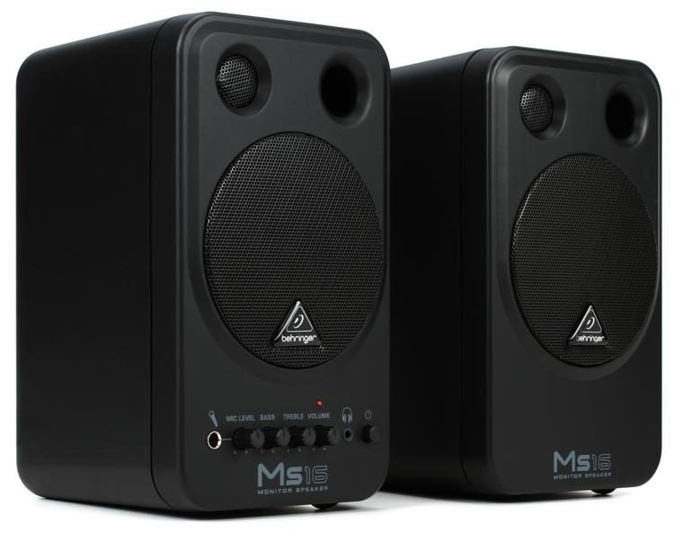 Behringer MS16 Behringer 16W 2-Way Personal Monitor Sys