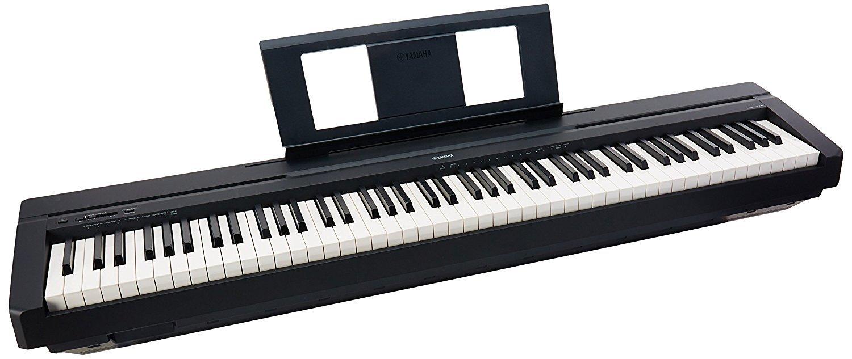 Yamaha P-45B 88-Key Weighted Action Digital Piano