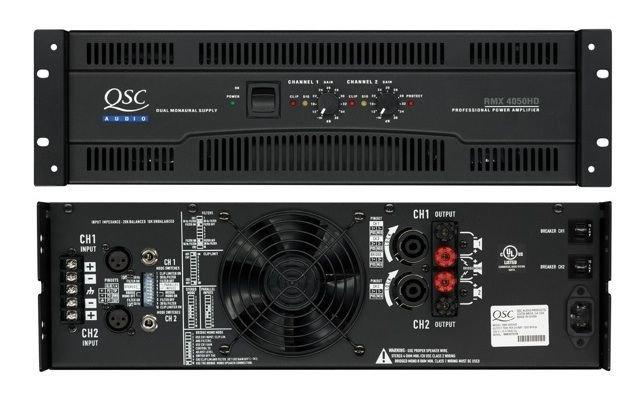 QSC RMX 4050HD Power Amplifier