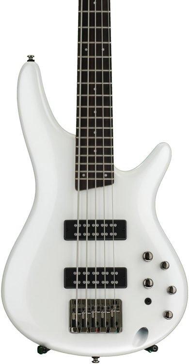 Ibanez SR Standard 5str Electric Bass - Pearl White