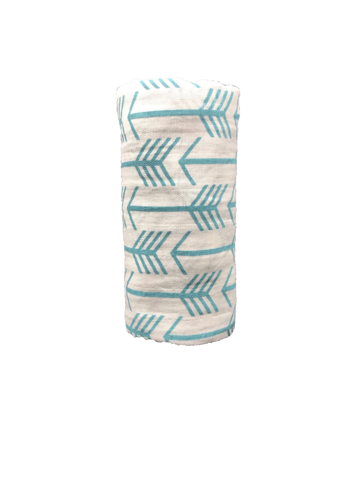 Arrows Teal Swaddle