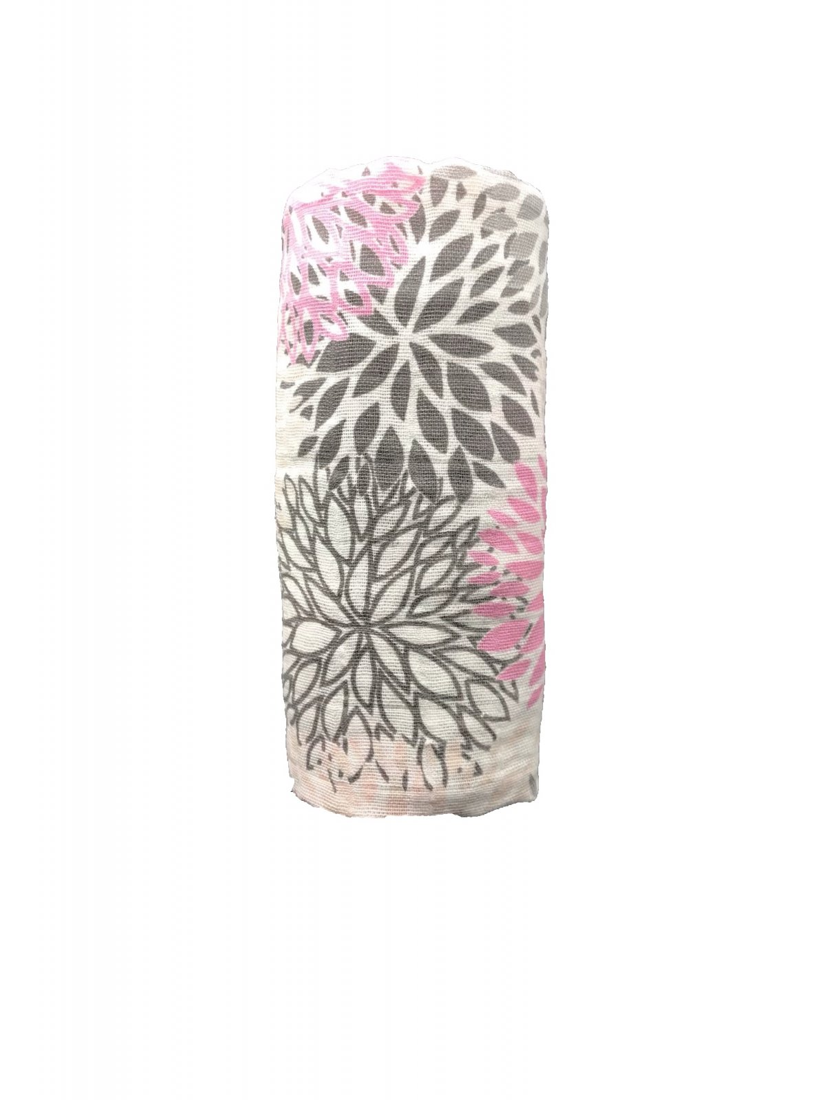 Coral Pink Bloom Swaddle