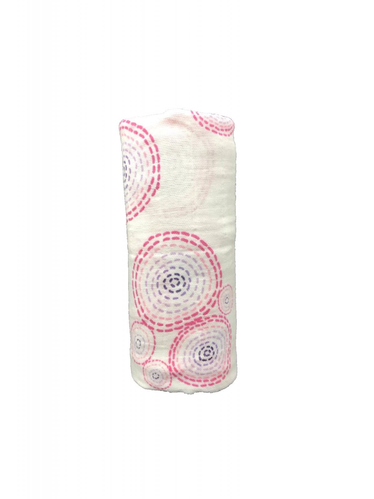 Ombres Bubbles Pink Swaddle