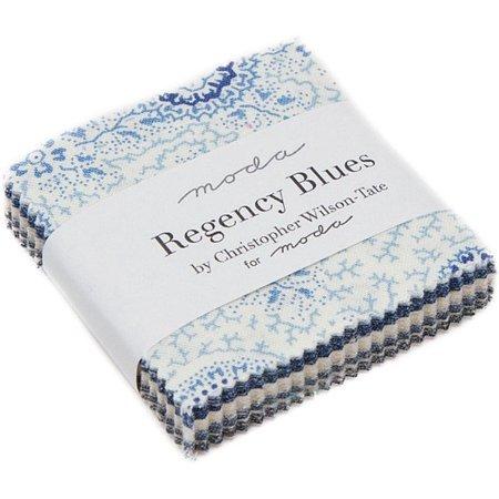Regency Blues Charm Pack