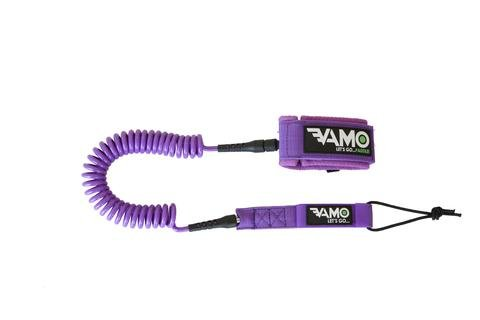 VAMO PURPLE 10' COILED LEASH