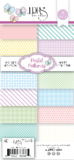 LDRS Pastel patterns 4 x 9 paper pack