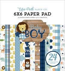 EP Baby Boy 6x6 paper pad