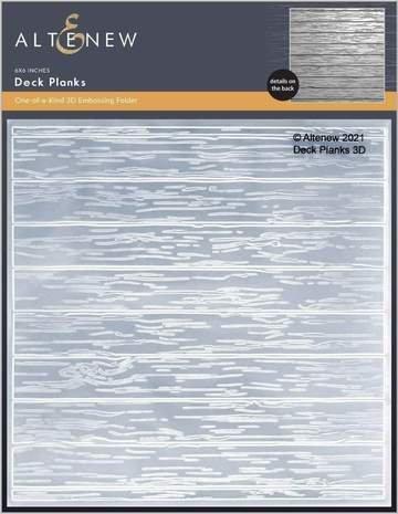 Altenew Deck Planks 3D embossing folder