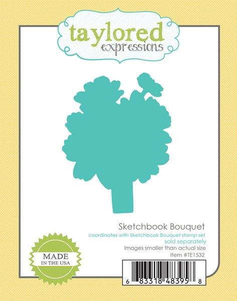 TE Sketchbook Bouquet  die set