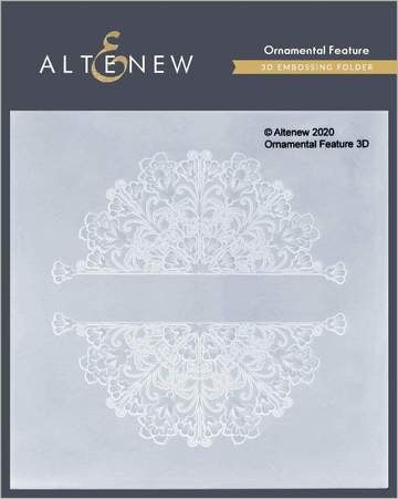 Altenew  Ornamental  3D embossing folder