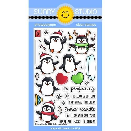 Penguin Pals Stamp
