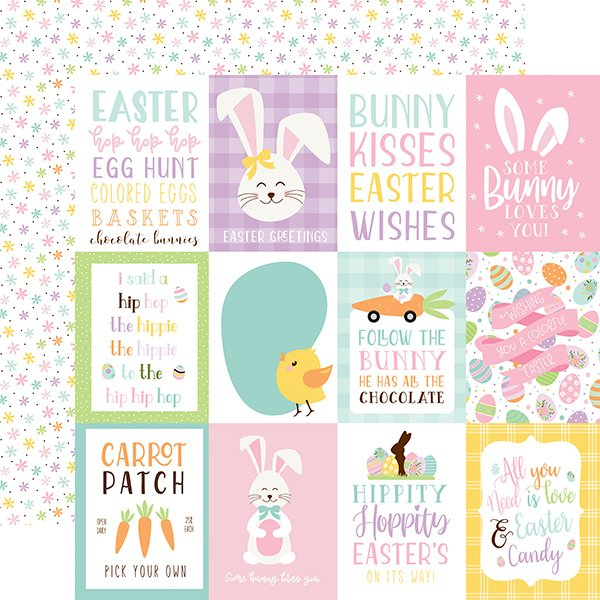 Echo Park Journaling cards patterned paper