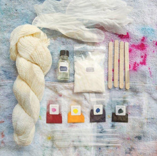 We Gather Yarn Dyeing Kit