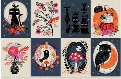 Dashwood Studio MOON  Halloween Panels 1876