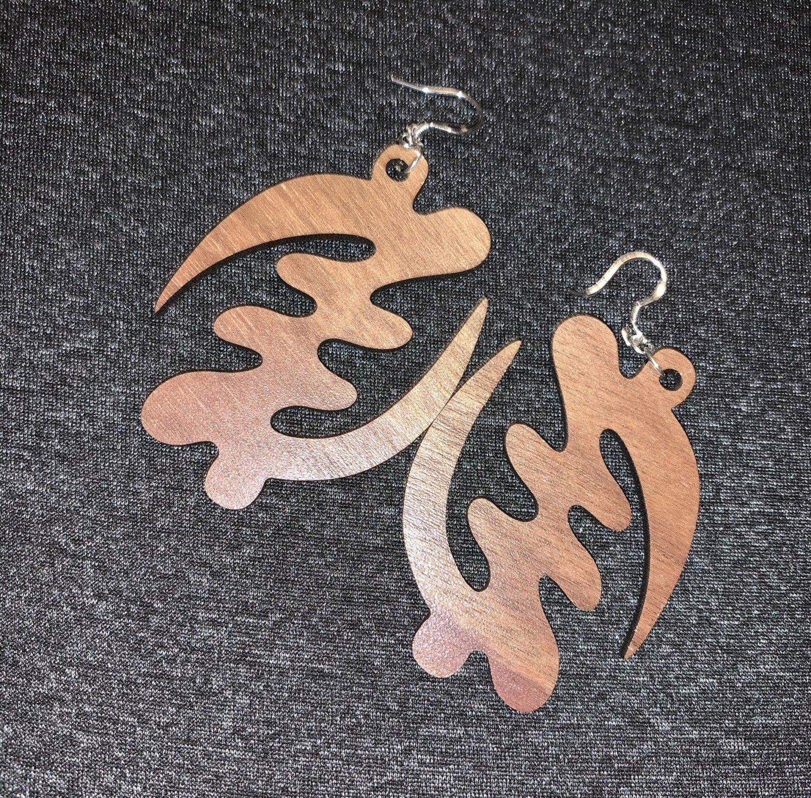 Adinkra African Symbol Earrings - Supremacy of God