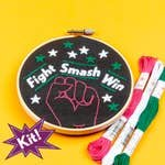 Fight Smash Win! 5 Embroidery Kit