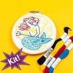Mermaid 5 Embroidery Kit