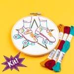Quad Goals 5 Embroidery Kit
