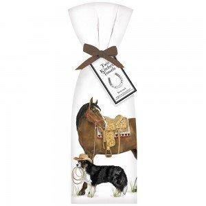 Flour Sack Ranch Horse Toewl