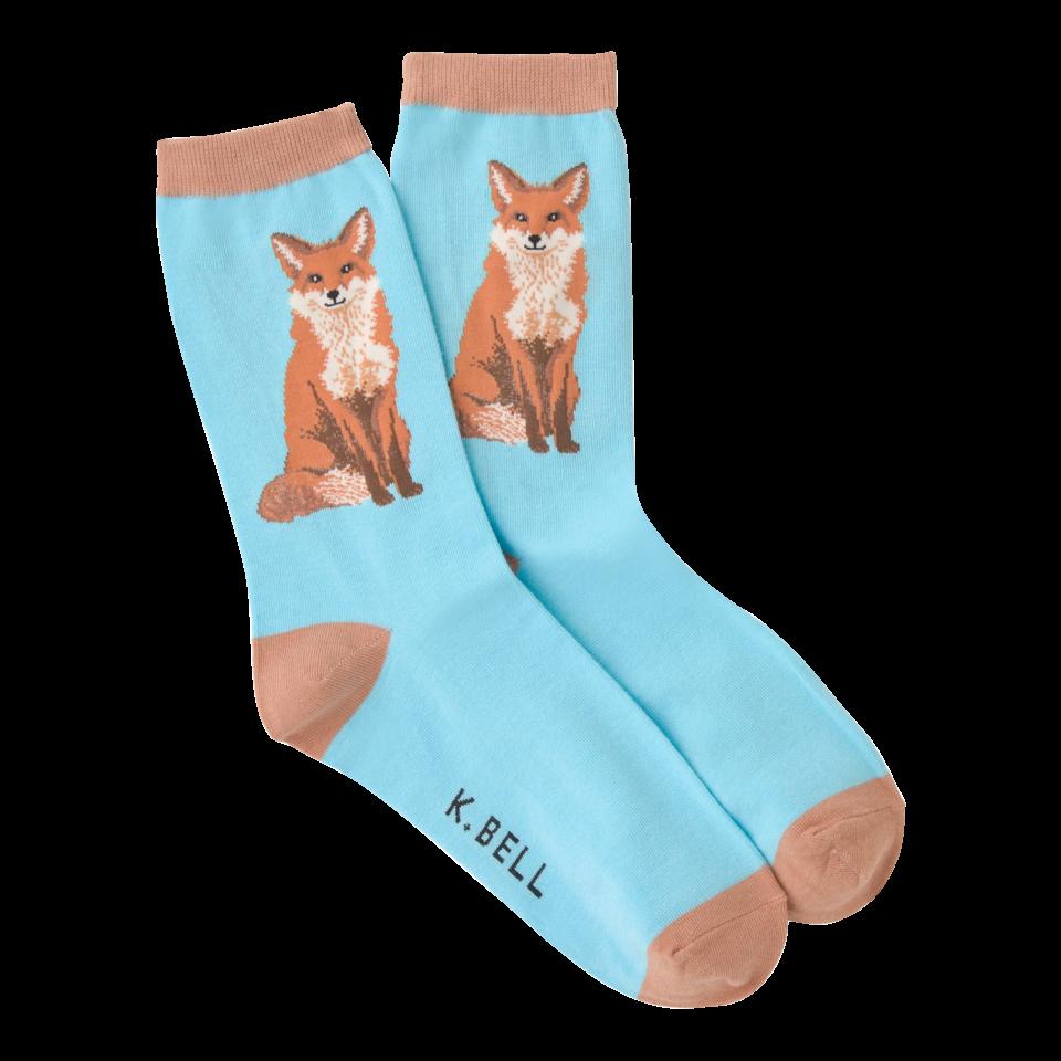 K. Bell Women's Foxy Crew Socks