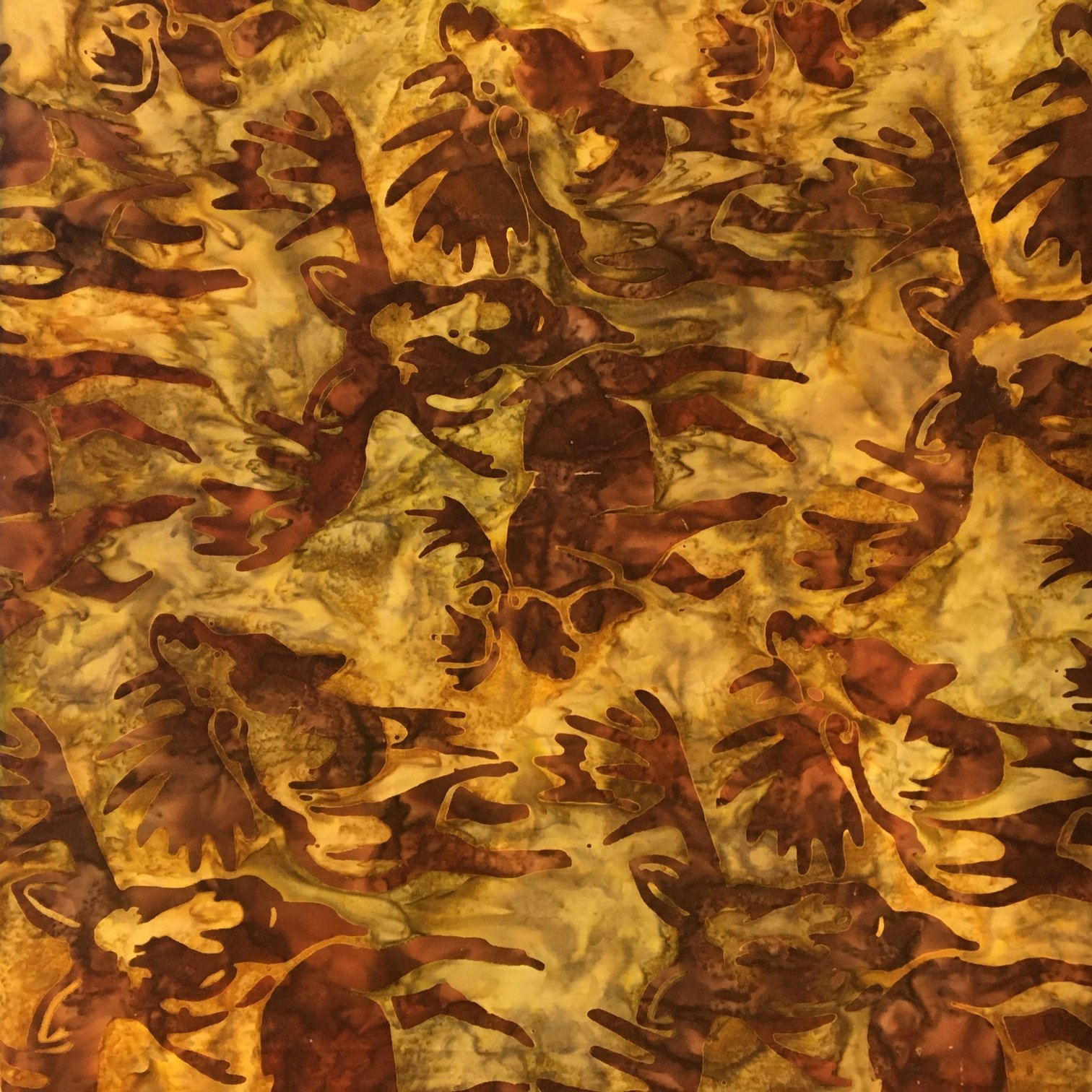 Wildlife Sanctuary - Earth Moose Batik