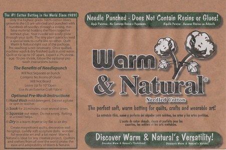 Warm & Natural Batting