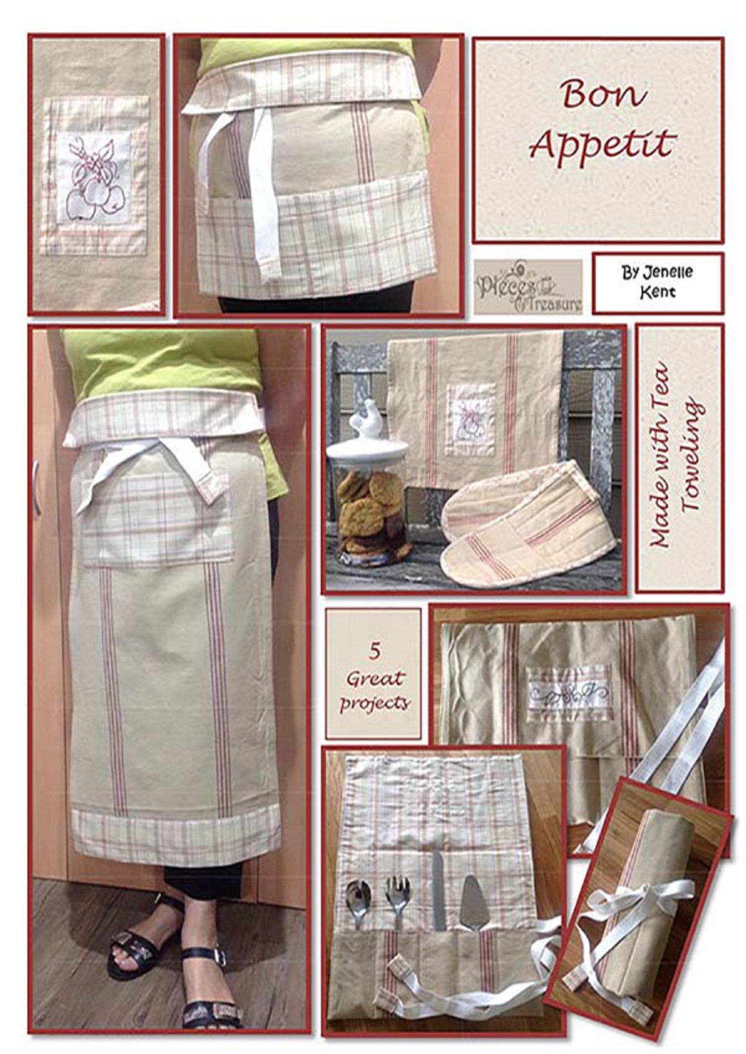 Bon Appetit Sewing Pattern, by Jenelle Kent
