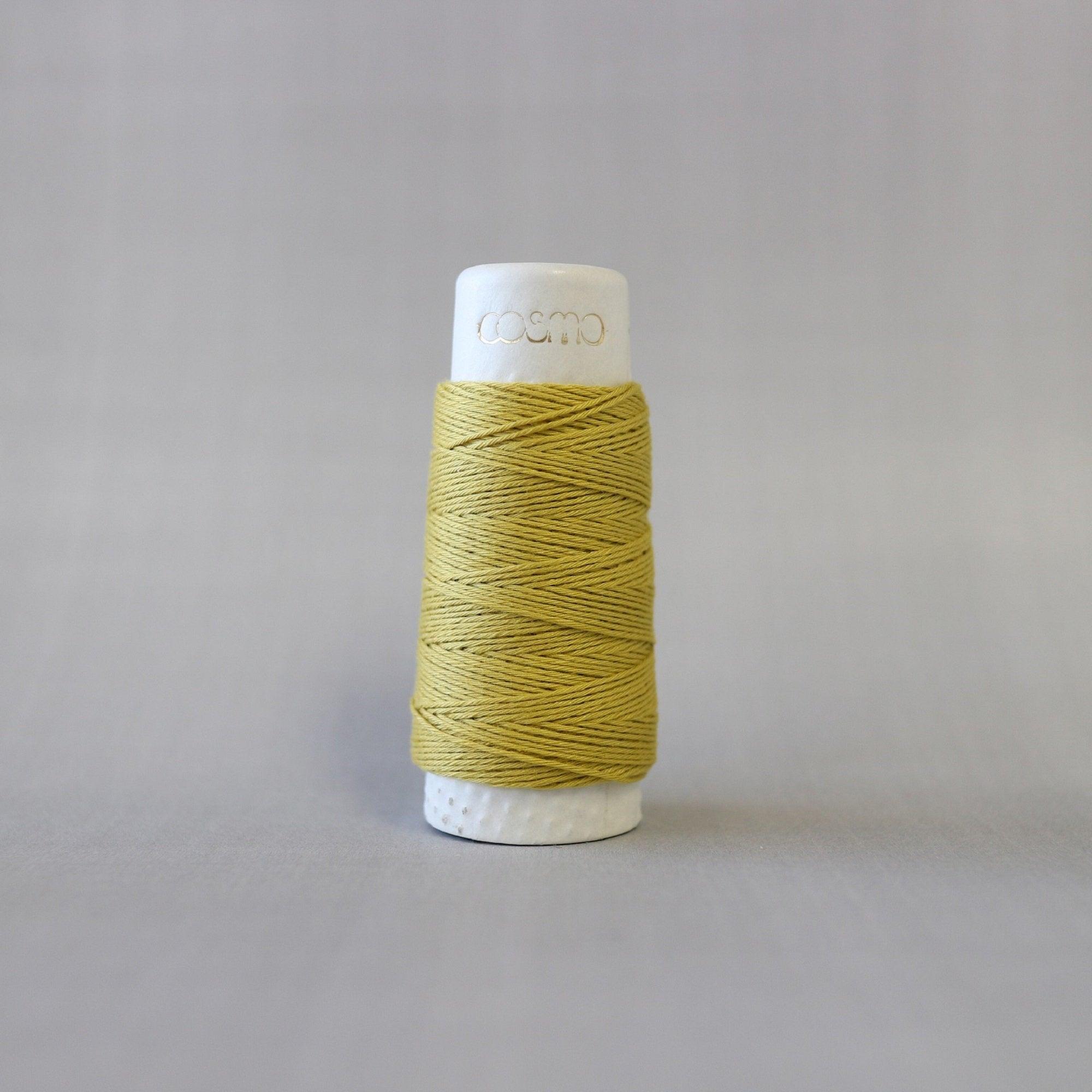 Lecien COSMO hidamari & Sashiko Cotton Thread - 30m - No. 88-14 Olive