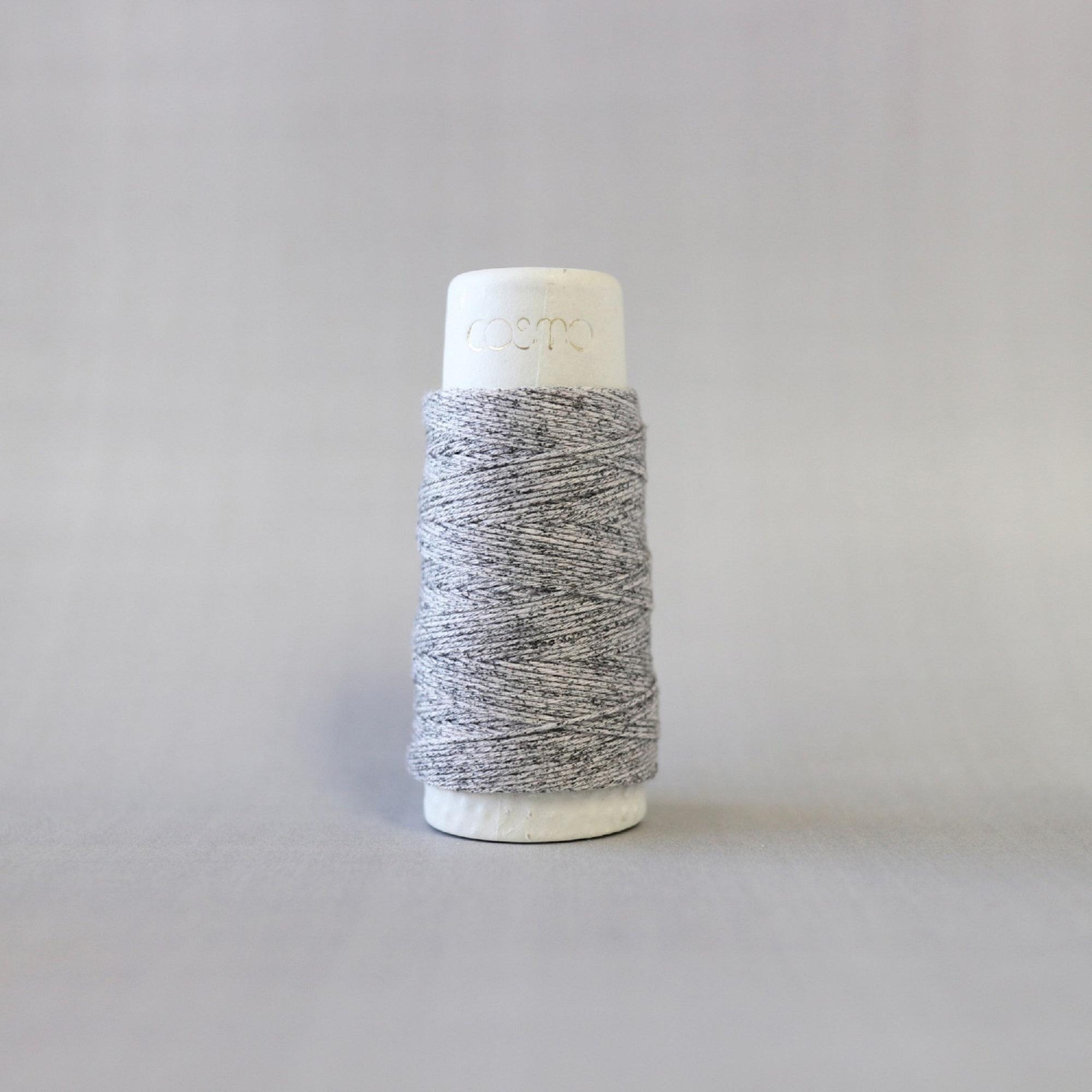 Lecien COSMO hidamari Sashiko Variegated Cotton Thread - 30m - No. 89-205 Cookies & Cream