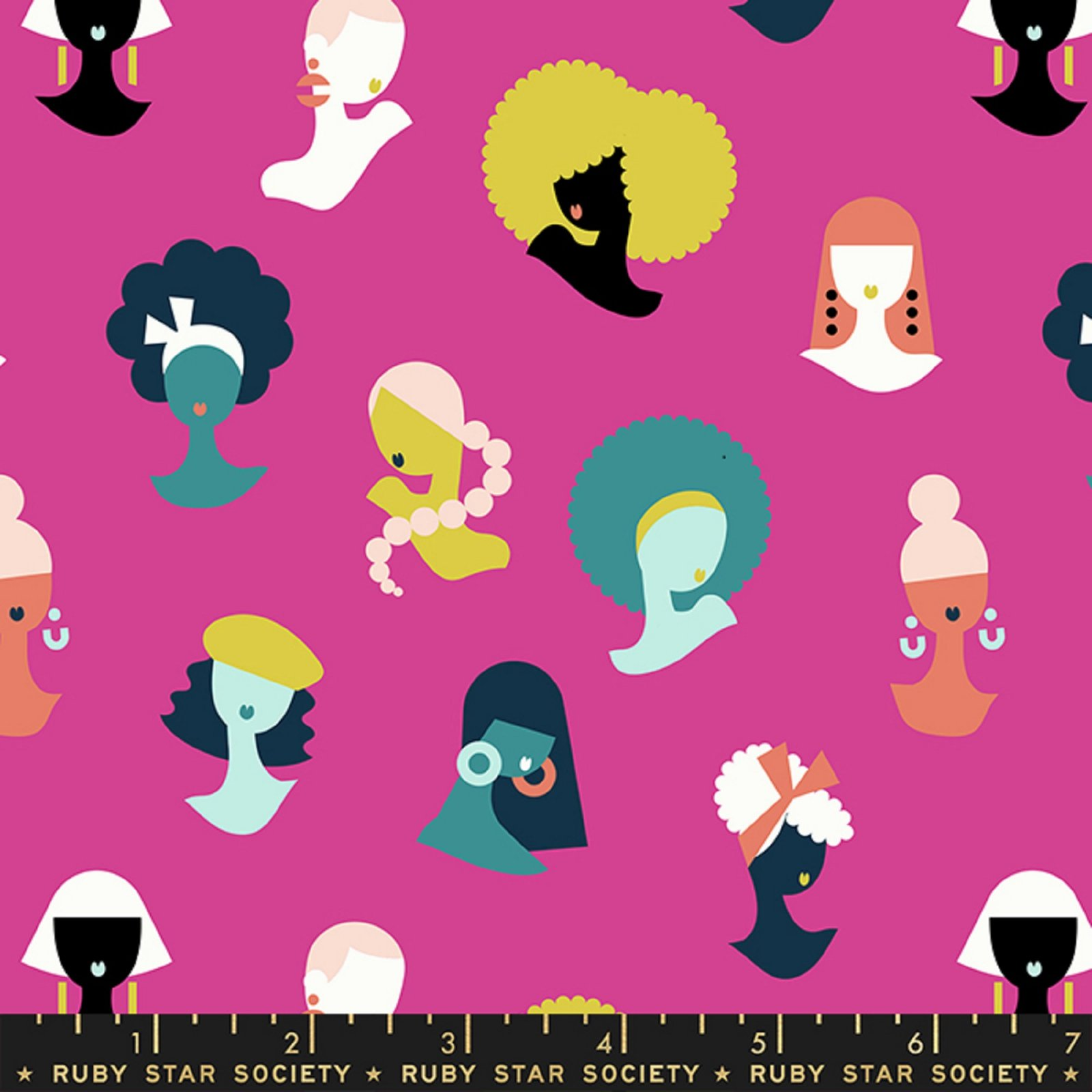 Adorn- Hey Ladies Women Girls- Berry By Rashida Coleman Hale- Ruby Star Society- Moda