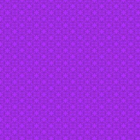 Modern Melody Filagree Geometric Purple