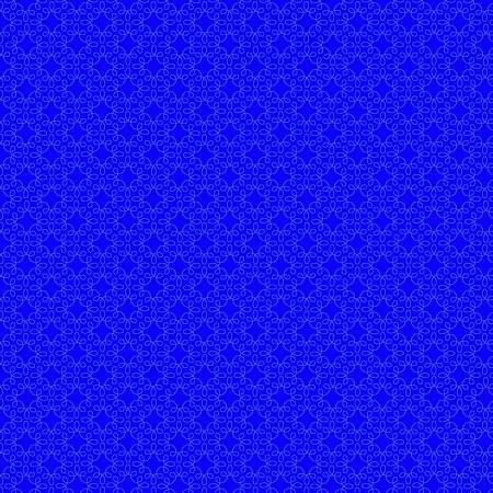 Modern Melody Filagree Geometric Royal Blue