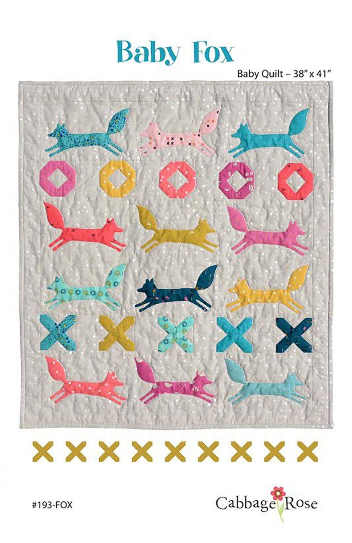 Baby Fox Quilt Pattern