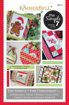 Kimberbell Simple 7 for Christmas Project Booklet