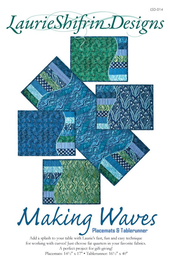 Making Waves Placemat & Table Runner Pattern