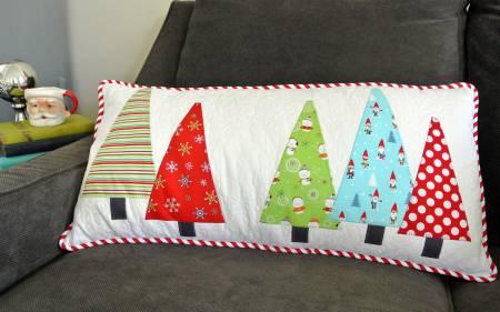 Tree Hugger Pillow Cut Loose Press Pattern Card
