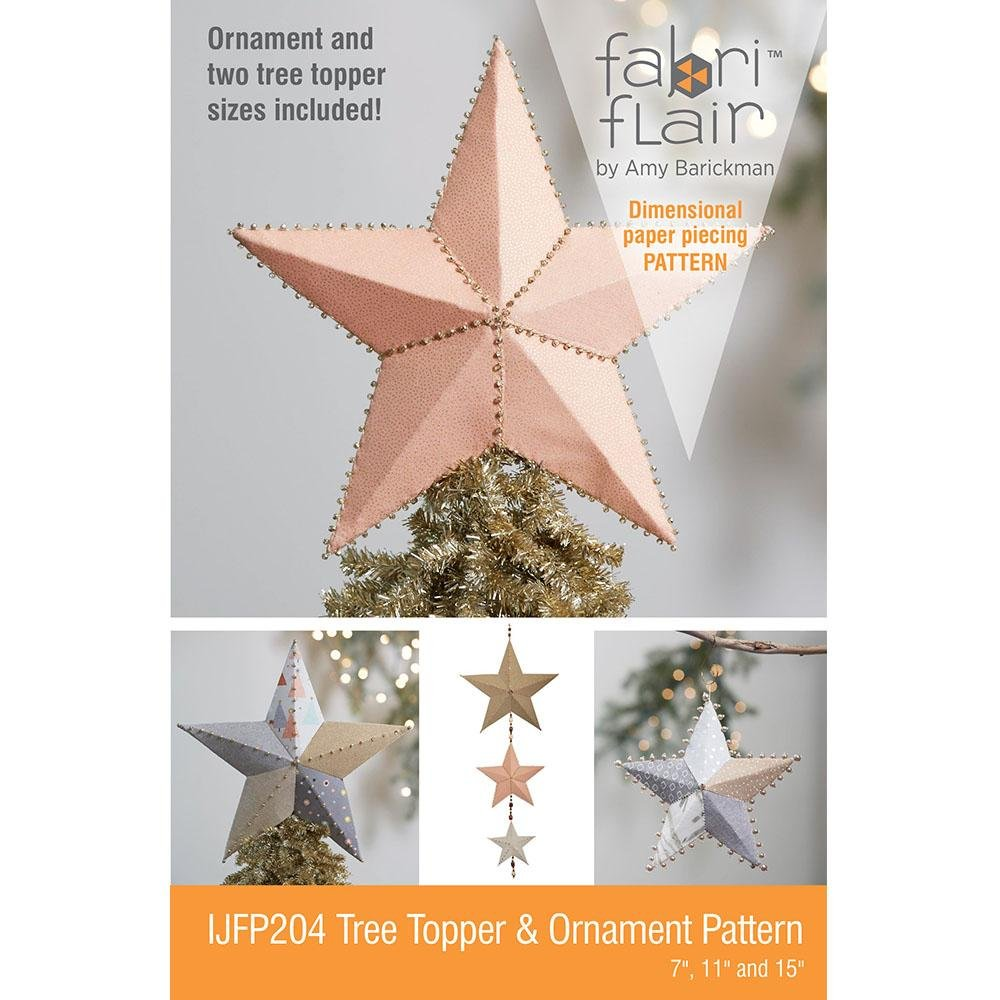 Fabriflair Tree Topper & Ornament Pattern