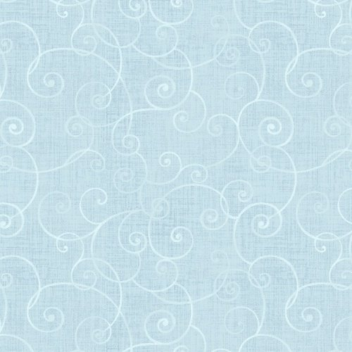Whimsy Basic Soothing Swirl Spa Blue