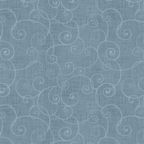 Whimsy Basics Soothing Swirl Light Blue